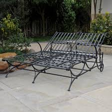100 Black Wrought Iron Chairs Outdoor Shop International Caravan Antique Patio Chaise