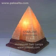Himalayan Salt Lamp Pyramid by Pyramid Salt Lamp Meditation Lamps Egyptian Pyramid Therapy Lights