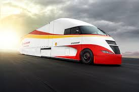 Shell's Starship Initiative Semi Truck Looks Crazy, Is Crazy ...