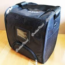 Gelish 18g Led Lamp Australia by Harmony Gelish Black Sparkle Tech Bag Can Hold 18 Bottles 18g Led