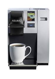 Keurig K150 Single Cup Commercial K Pod Coffee Maker SilverDirect Plumb