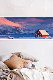 poster santas house panorama querformat