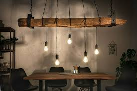 balken deckenle altholz wohnzimmer hänge le rustikal 152cm