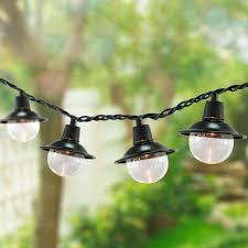outdoor solar string lights patio home design ideas