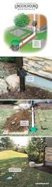 Menards Drain Tile Sock by Best 25 Underground Drainage Ideas On Pinterest French Drain