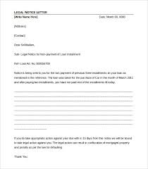 Legal Letter Template – 12 Free Word PDF Documents Download