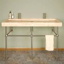 Trough Bathroom Sink With Two Faucets Canada by Sinks Trough Bathroom Sink Uk With Two Faucets Canada Bath Sinks