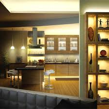 install rope lights kitchen cabinets image