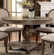 Siobhan Rustic Dark Oak Round Dining Table