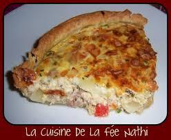 tarte salée thon poivron mozza la cuisine de la fée nathi