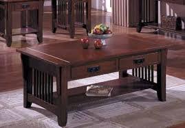 mission coffee table wood kit ewoodshops