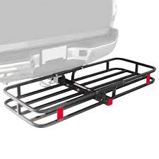 Receiver Hitch Cargo Carrier - 500 Lb Capacity CC-1951   Discount ... Universal Tow Hitch Mount Bracket Dual Led Backup Reverse Search Curt Manufacturing Class 3 Trailer 13365 How To Build Receiver Bike Rack Diy Metal Fabrication Com Cover Nissan Titan Forum Tundra Bed Extender Vehicles Architect Age F150 Towing 101 The Basics To Safely Your Toys Drop Down For Lifted Trucks Best Truck Resource Works Hitches With Lighting Vestil Lift Kirbys Wiring Home Trailer Hitch Atv Carry Rack Archive Huntingbcca