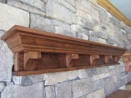 rustic fireplace mantel shelf corbels victorian craftsman cabin