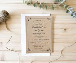 Rustic Diy Printable Wedding Invitation Template Mountainmodernlife Com