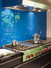 Kitchen Glass Painted Splashbacks Be Hind The Gas Hob Decourative In Northern Ireland