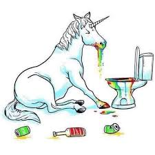 Unicorn Vomit Drunk Alcohol