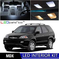Amazon.com: LEDpartsNow 2001-2006 Acura MDX LED Interior Lights ...