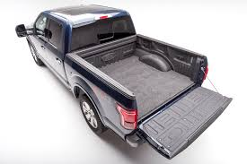 100 Bed Liners For Trucks Rug BMQ15SCS Mat DirectFit Without Raised Edges Dark Gray CarpetLike Polypropylene Tailgate Liner Mat Not Included Works Without