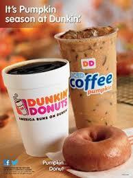 Dunkin Pumpkin Spice K Cups by Dunkin U0027 Pumps Up Pumpkin Season Marketing 08 17 2015