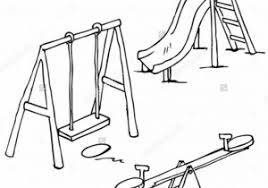 Pa Playground Clipart Black And White Free Jpg