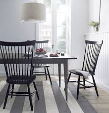 Crate And Barrel Lowe Chair by Marlow Ii Black Side Chair I Crate And Barrel Dining Rooms