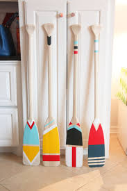 decorative oars and paddles easy diy painted oars painted oars studio and lakes