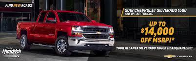 100 Chevy Truck Specials 2018 Chevrolet Silverado 1500 Crew Cab S Rick Hendrick