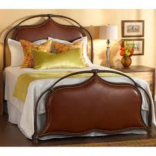 Wesley Allen King Size Headboards by Merced Iron U0026 Upholstered Bed By Wesley Allen Humble Abode