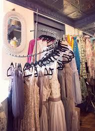 Wardrobe Racks Spiral Clothes Rack Rotating Boho Boutique Interior
