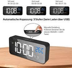 wecker nacht kinder digital wecker doppelte temperatur und
