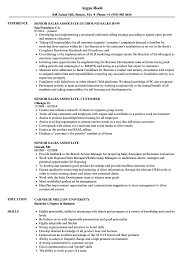 Download Senior Sales Associate Resume Sample As Image File