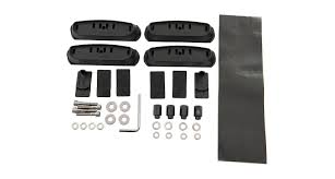 100 Discount Hitch And Truck Accessories RhinoRack RCP40BK RCP Base Kit X4