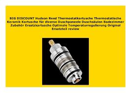 new hudson reed thermostatkartusche thermostatische keramik