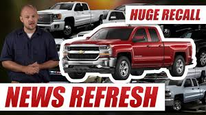 100 Gmc Truck Recall Airbag Software Glitch 43 Million Chevy Silverados GMC Sierras