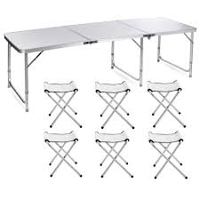 Lennov 1.8M 6FT Portable Outdoor Folding Camping Table With 6 Chairs ... Lifetime 72 In Black Plastic Stackable Folding Banquet Table280350 Luan 18x72 6 Ft Seminar Wood Table Vinyl Edging Bolt Solid Trestle 8 Folding Chairs Set Best Price Barnsley Uk For Rent Portable 6ft Rattan Design Fniture Lerado 6ft Foldin Half Rect Table Raptor Almond Table22900 Home Depot Canada Tables 6ft And Chairs Lennov 18m Outdoor Camping With Ft Commercial Combo Youtube Exciting Cosco Interesting Tfh Gazebos And Chair Set Indoor Use