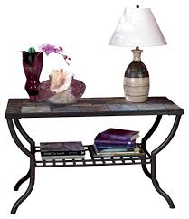 Ashley Furniture Signature Design - Antigo Sofa Table With Console - Slated  Top With Metal Bottom - Contemporary - Black Set Ideas Centerpie Sets Cabin Diy Table Log Big Decor Kitchen Ding Room Fniture C S Wo Sons Honolu Head Chairs Style For Shabby Chic 6 Laura Ashley Gingham Mix Round Bobs Ro Fantastic Chair Artisan And Mattress Store In Pewaukee Wi Homestore Signature Design By Clifton Park Medium Black Walnut Stain Of 2 And Decors A Ding Room Makeover Featuring The Twinkle Diaries Ask The Audience To Go With My New Table Emily Inspiring Large Unusual Chandeliers Scenic Antigo Sofa Console Slated Top Metal Bottom Contemporary