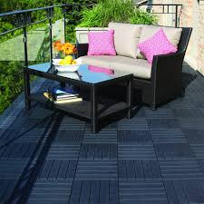 Runnen Floor Decking Outdoor Brown Stained by Outdoor Tiles The Tile Home Guide