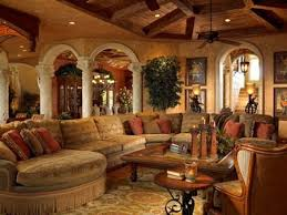 French Style Homes Interior Mediterranean Home Rustic