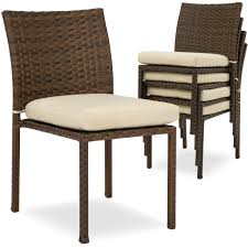 BestChoiceProducts: Best Choice Products Set Of 4 Stackable Outdoor ... Red Barrel Studio Dierdre Outdoor Wicker Swivel Club Patio Chair Cosco Malmo 4piece Brown Resin Cversation Set With Crosley Fniture St Augustine 3 Piece Seating Hampton Bay Amusing Chairs Cushions Pcs Pe Rattan Cushion Table Garden Steel Outdoor Seat Cushions For Your Riviera 4 Piece Matt4 Jaetees Spring Haven Allweather Amazoncom Festnight Ding Of 2