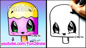 how cute easy drawings of food to draw cartoon taco dibujos kawaii tutorial fries kawaii cute