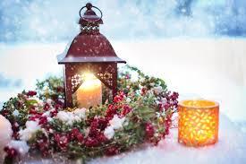 noel lanterne bougie allumée photos gratuites images gratuites