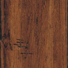Stranded Bamboo Flooring Hardness by Home Legend Hand Scraped Strand Woven Antiqued 3 8 In X 5 1 8 In