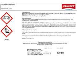 mellerud schimmel vernichter chlorhaltig 0 5 l