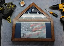 Build Your Own Flag Display Case Ensign Shadowbox