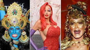 Halloween Heidi Klum Jessica Rabbit by Heidi Klum U0027s Best Halloween Costumes Jessica Rabbit Kali And