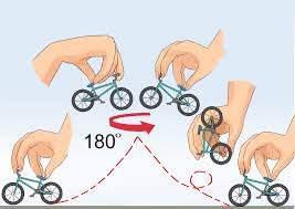 Tech Deck Finger Skateboard Tricks by 3 Ways To Do Tricks On A Finger Bike Wikihow