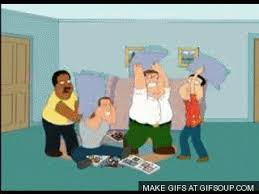 family guy s Family Guy Pillow Fight Gifs