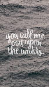 Brush Lettering And Encouragement Ocean WallpaperFree Iphone