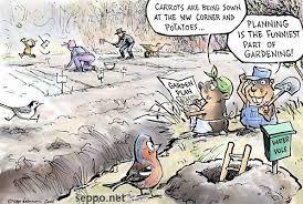 Gardening Garden planning Environmental Cartoons