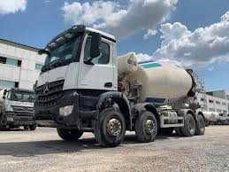 100 Concrete Truck Capacity MERCEDESBENZ 2017 Model Arocs 4142 Euro 6 12 M3